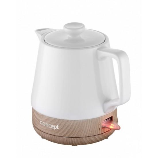 Ceramic kettle RK0060 1.0L White