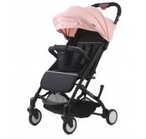 A8 Oxford black / Lotus pink stroller