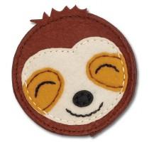 Brown sloth wallet