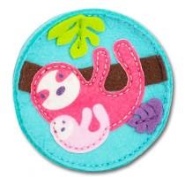 Blue sloth wallet