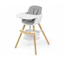 2in1 Espoo Gray chair for feeding