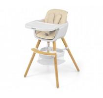 2in1 Espoo Beige feeding chair