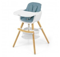 2-in-1 Espoo Blue chair for feeding