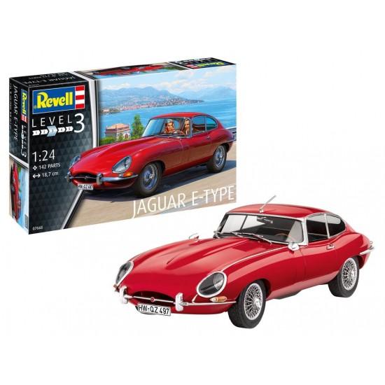 Jaguar E-Type Coupe model