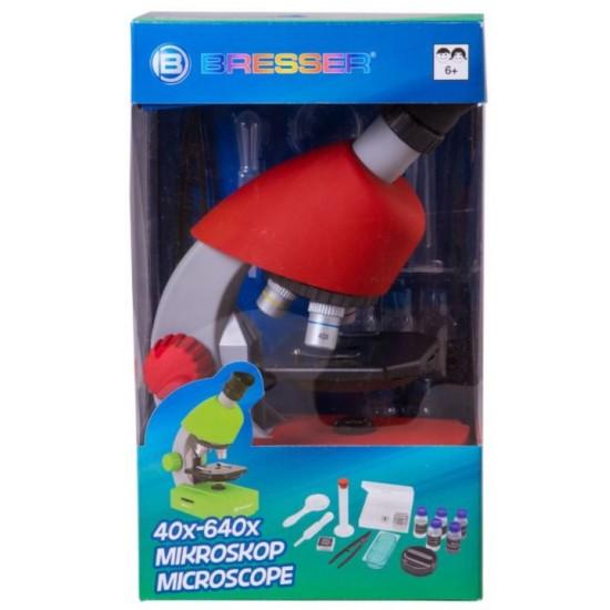 Mikroskop Bresser Junior 40x-640x czerwony