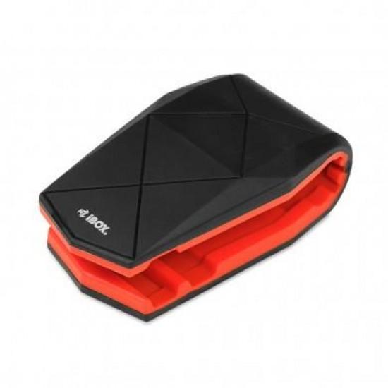 iBox H-4 BLACK-RED Mobile phone/smartphone Black,Red Passive holder