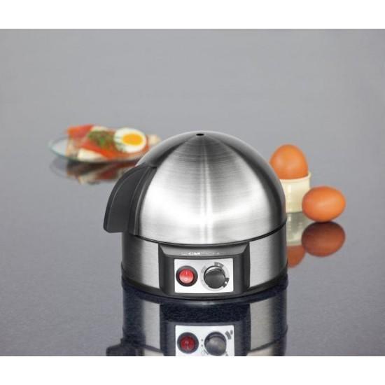 Clatronic EK 3321 egg cooker 7 egg(s) 400 W Black,Stainless steel