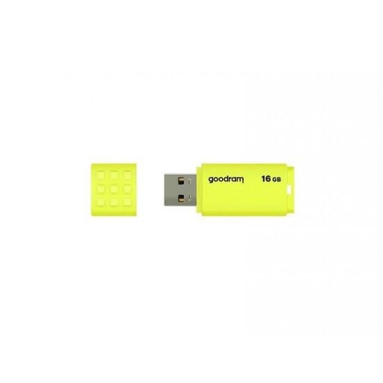Goodram UME2 16GB USB flash drive USB Type-A 2.0 Yellow