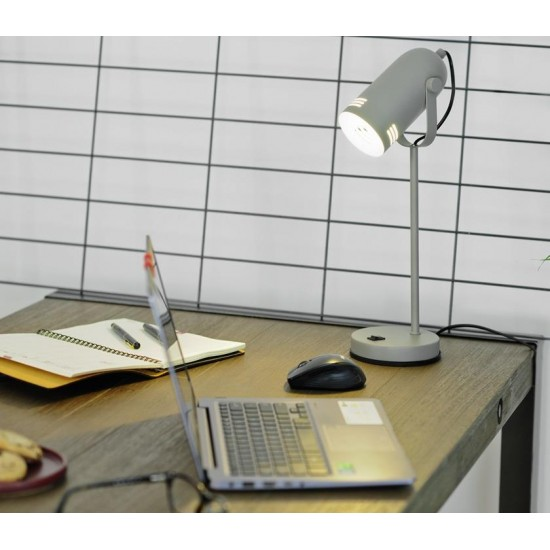 Activejet AJE-NICOLE GREY table lamp E27