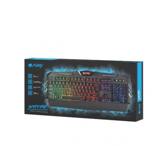 Keyboard membrane NATEC Fury Spitfire NFU-0868 (USB 2.0 black color)