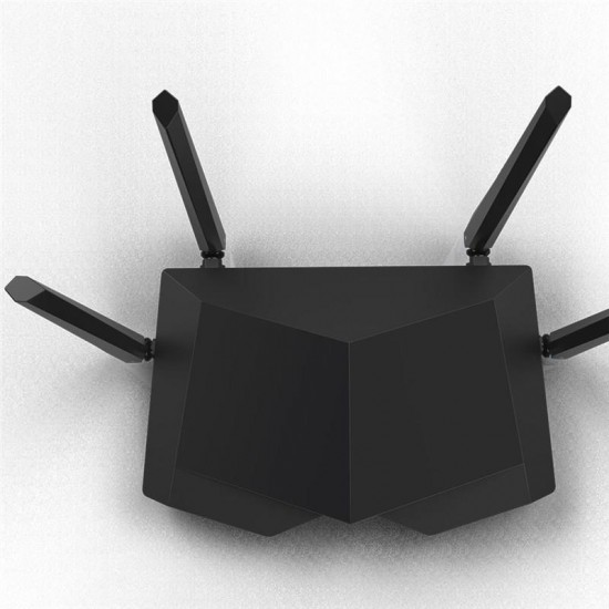 Tenda AC6 wireless router Dual-band (2.4 GHz / 5 GHz) Fast Ethernet White