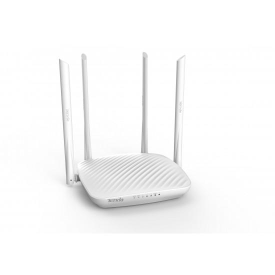 Tenda F9 wireless router Single-band (2.4 GHz) Gigabit Ethernet White
