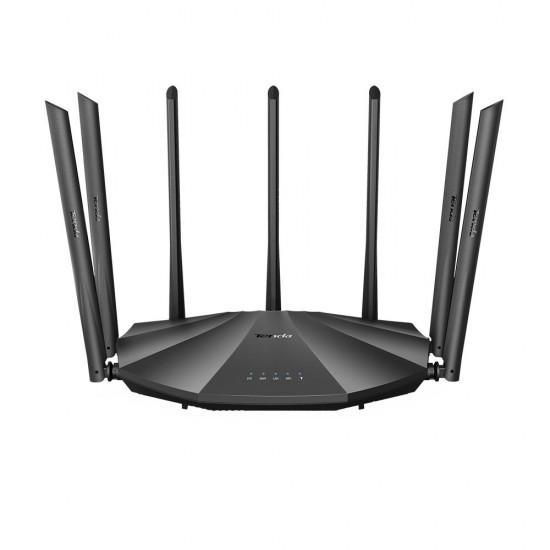 Tenda AC23 wireless router Dual-band (2.4 GHz / 5 GHz) Gigabit Ethernet Black