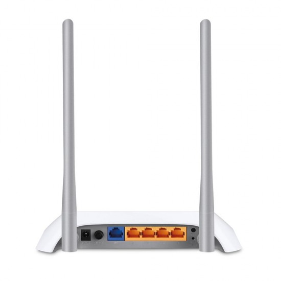TP-LINK TL-MR3420 wireless router Single-band (2.4 GHz) Fast Ethernet Black,White