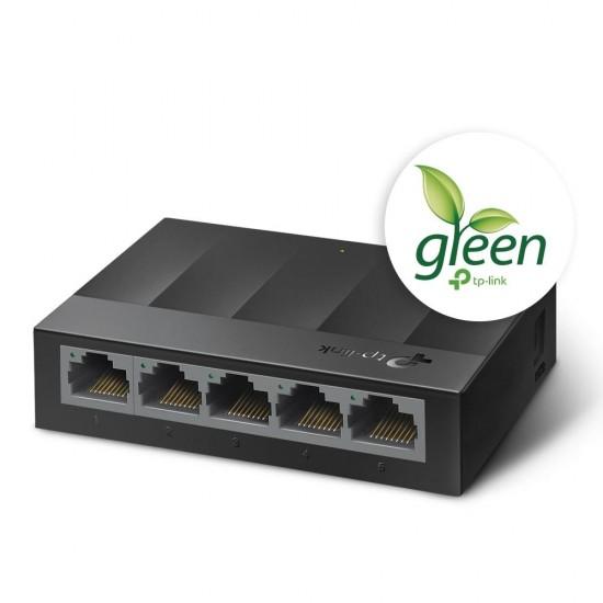 TP-LINK LS1005G Unmanaged Gigabit Ethernet (10/100/1000) Black
