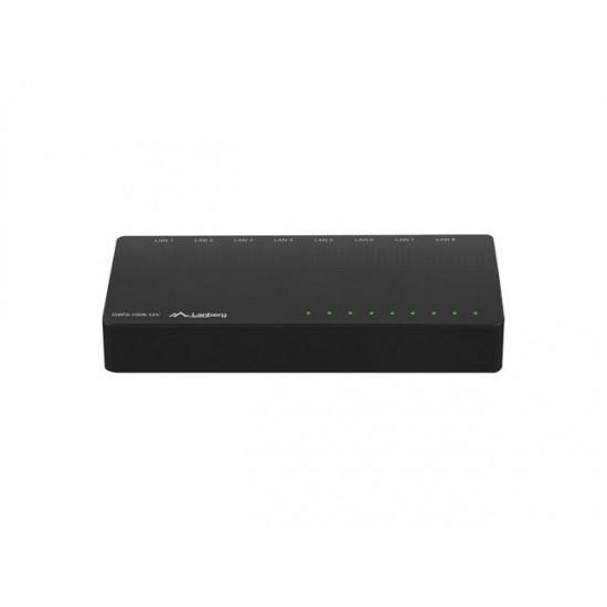 LANBERG SWITCH DSP2-1008-12V (8-PORT, 12V, 1GB/S)