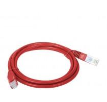 Alantec KKU5CZE1 networking cable 1 m Cat5e U/UTP (UTP) Red