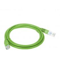 Alantec KKU5ZIE1 networking cable 1 m Cat5e U/UTP (UTP) Yellow
