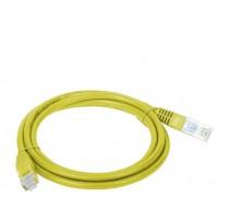 Alantec KKU5ZOL1 networking cable 1 m Cat5e U/UTP (UTP) Yellow