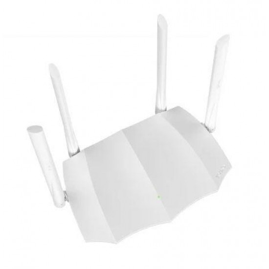 Tenda AC5 1200MBPS DUAL-BAND ROUTER wireless router Dual-band (2.4 GHz / 5 GHz) Fast Ethernet Black