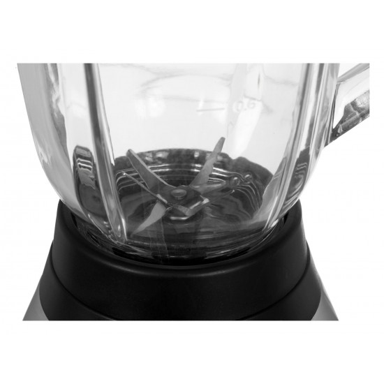 Blender jug Esperanza Margarita EKM020 (500W black color, steel color, transparent color)