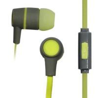 Vakoss SK-214G headphones/headset In-ear Green,Grey