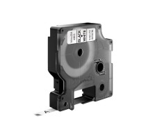 DYMO D1 Standard - Black on White - 6mm