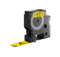 DYMO D1 Standard - Black on Yellow - 19mm