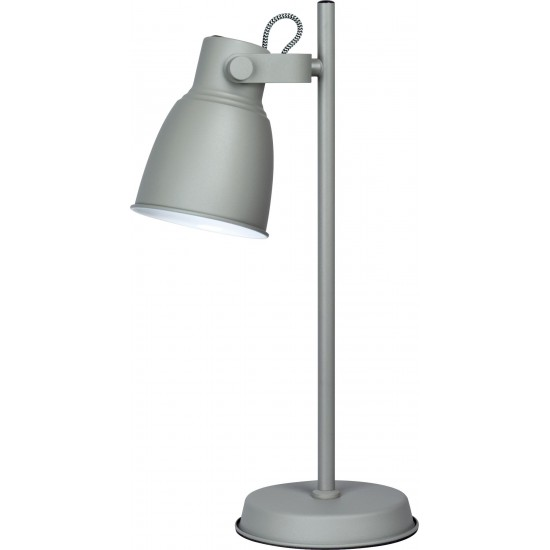 Activejet AJE-LOLY GREY TL table lamp Gray E27
