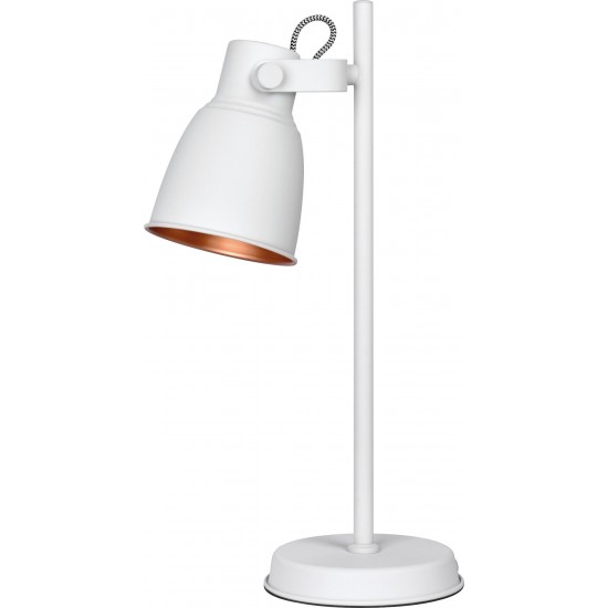 Activejet AJE-LOLY WHITE TL table lamp E27