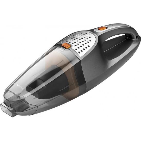 Clatronic AKS 832 φορητή ηλεκτρική σκούπα χωρίς σακούλα Μαύρο,Ανοξείδωτο,Διαφανές